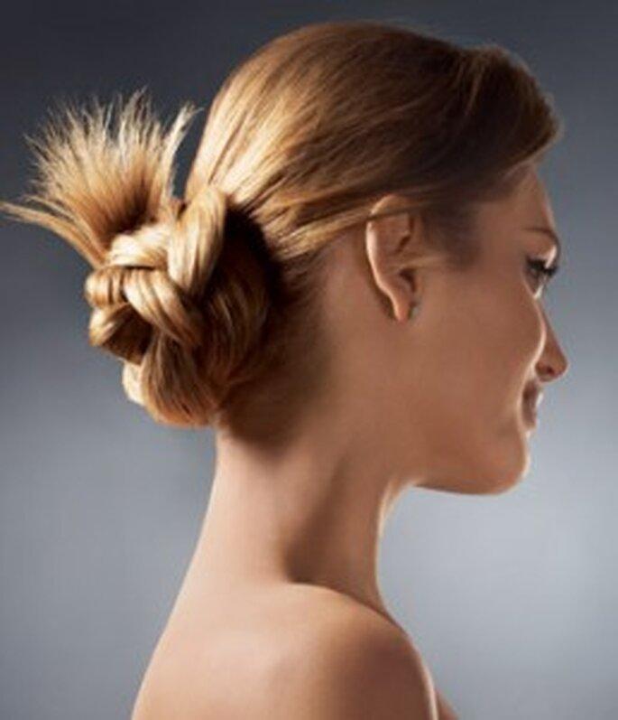 Un peinado con puntas sueltas te hará lucir despreocupada pero hermosa
