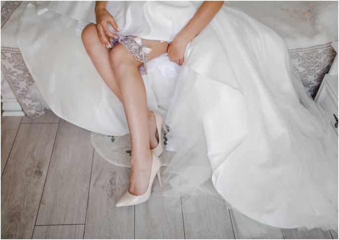 kousenband bruid