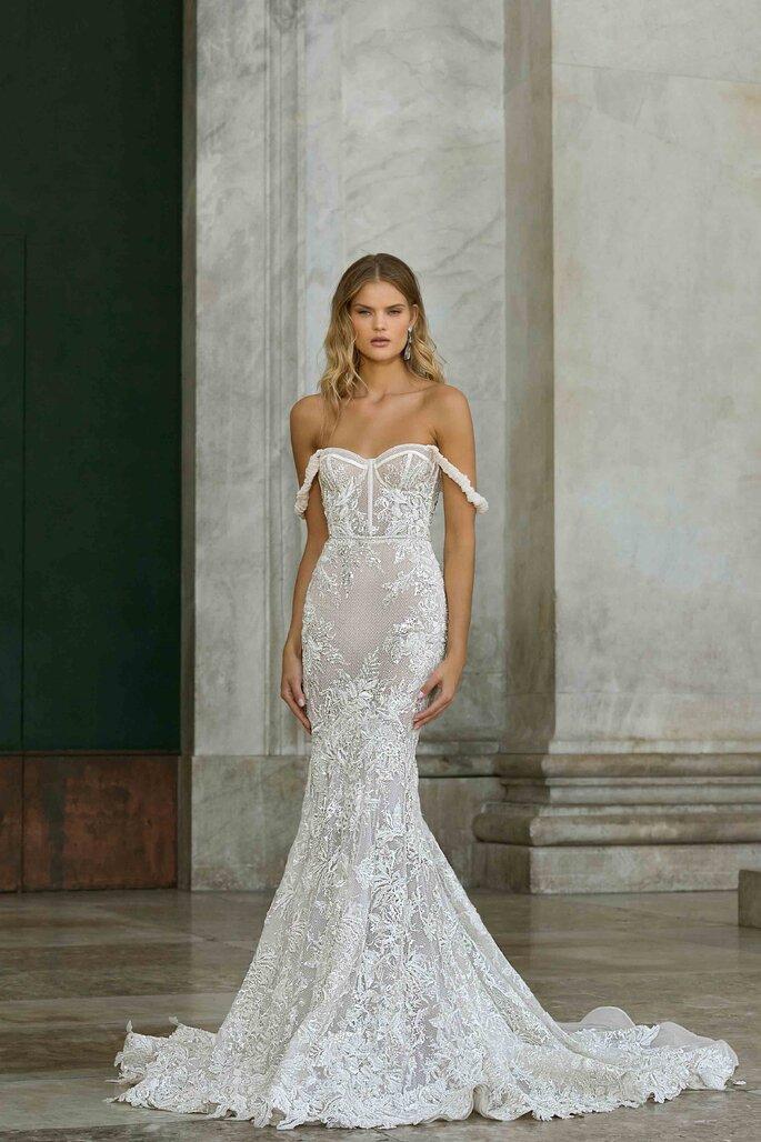 Vestidos de novia tirantes caídos