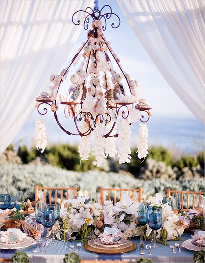Montajes perfectos para una boda en la playa - Foto Tim Halberg