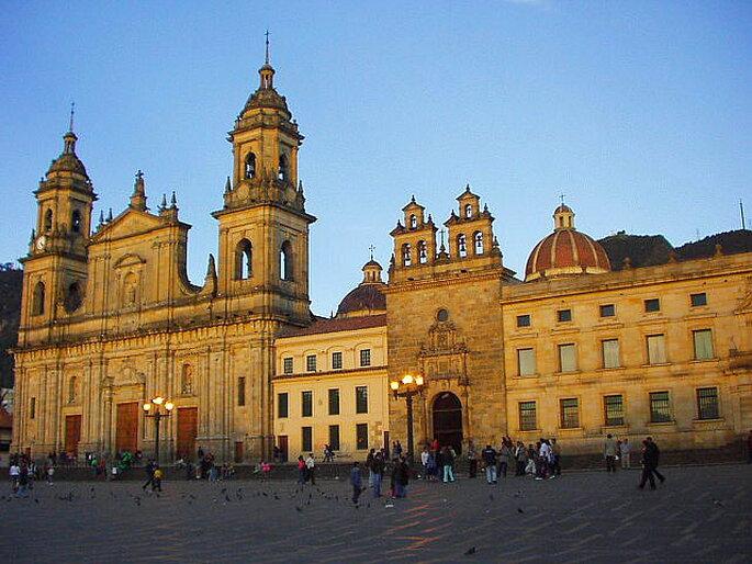 Catedral Primada de Bogotá. Foto: www.commons.wikimedia.org