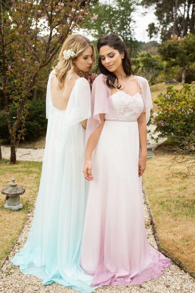 Karen Rodrigues vestidos cores