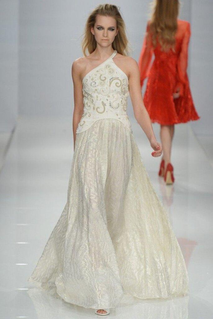 Vestidos de novia poco convencionales para las más fashionistas - Foto Genny