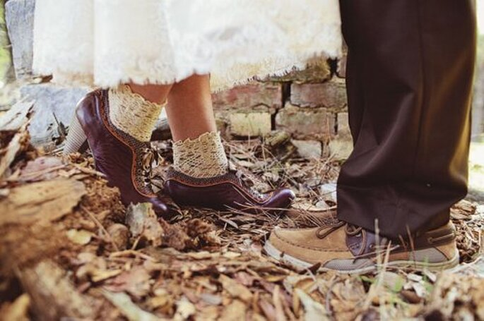 Hochzeit im Boho Style Foto: Green Wedding Shoes