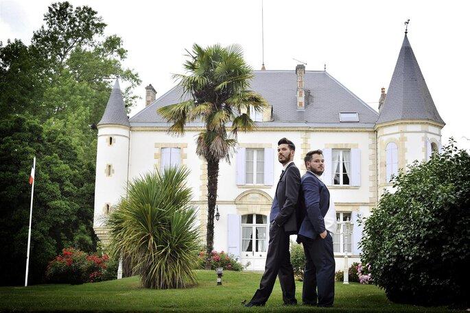 chateau- mariage landes