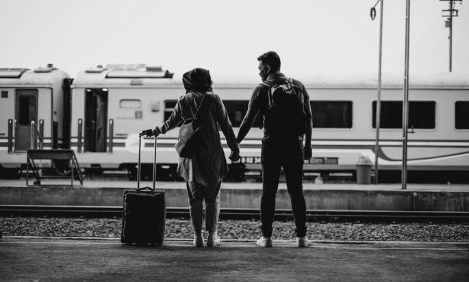 Flitterwochen-Ziel finden