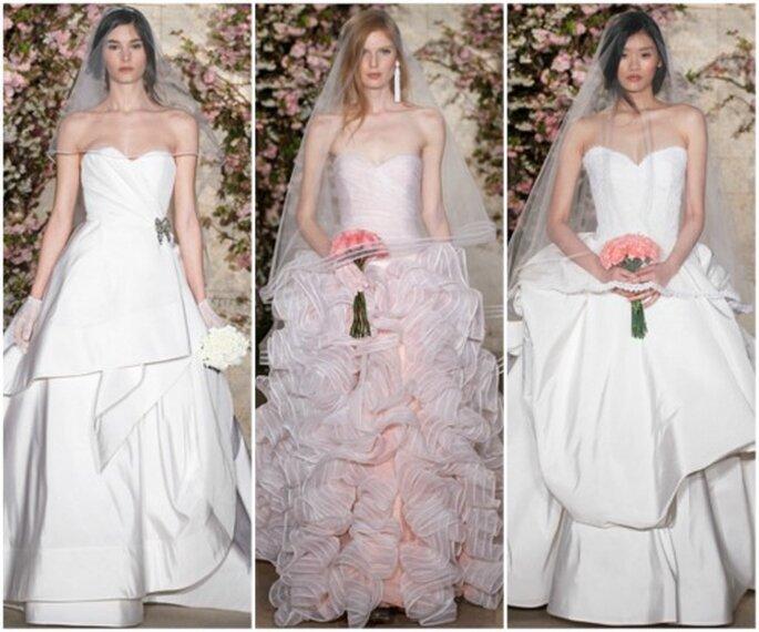 Vestidos de novia Oscar de la Renta 2012