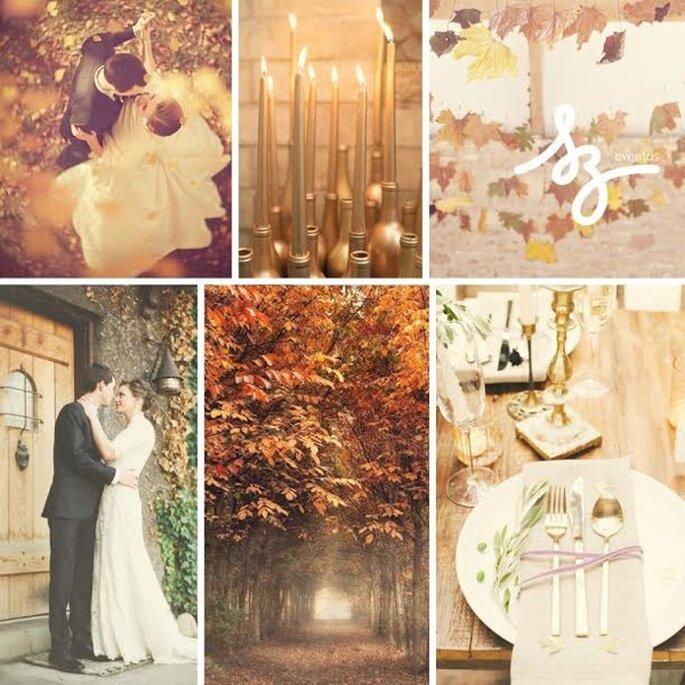 Boda inspirada en el otoño - Foto Brklyn View Photography, Sanya Khomenko, Joseph Mathhew Photography