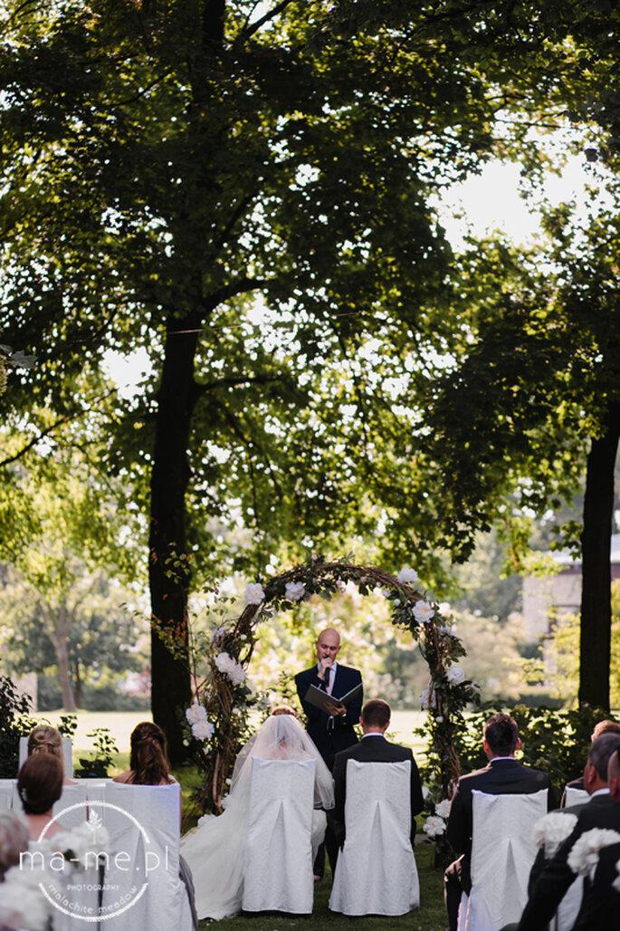 Ślub Humanistyczny Joanna Humerczyk /fot. Malachite Meadow