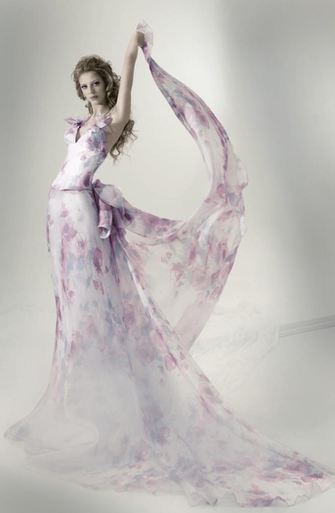 Modello Actea, Collezione Ninfe. Foto via Marina Mansanta FB
