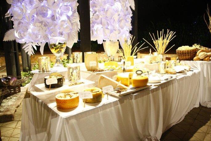 Actualmente la presentación del buffet y de los platos es una parte fundamental de la decoración. Foto: Castropol Catering