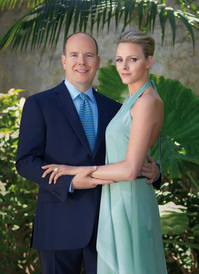 Prince Albert II de Monaco et Charlene Wittstock. Mariage royal. Photo : gala.de