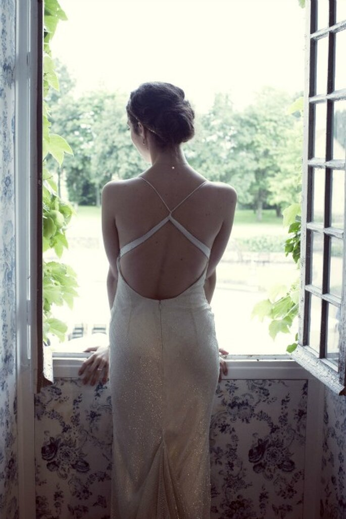 Choisir sa robe de mariée : une étape phare - Photo : Anne-Sophie Bost
