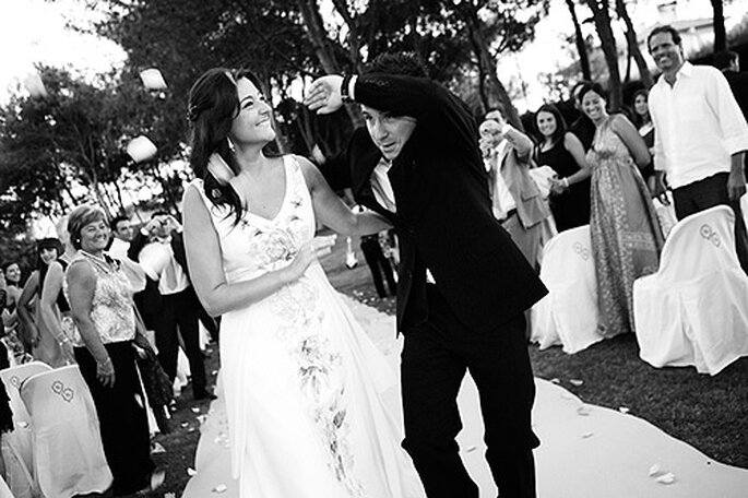¿Sabes lo que es un reportaje de boda documental? Foto: Doble A Foto