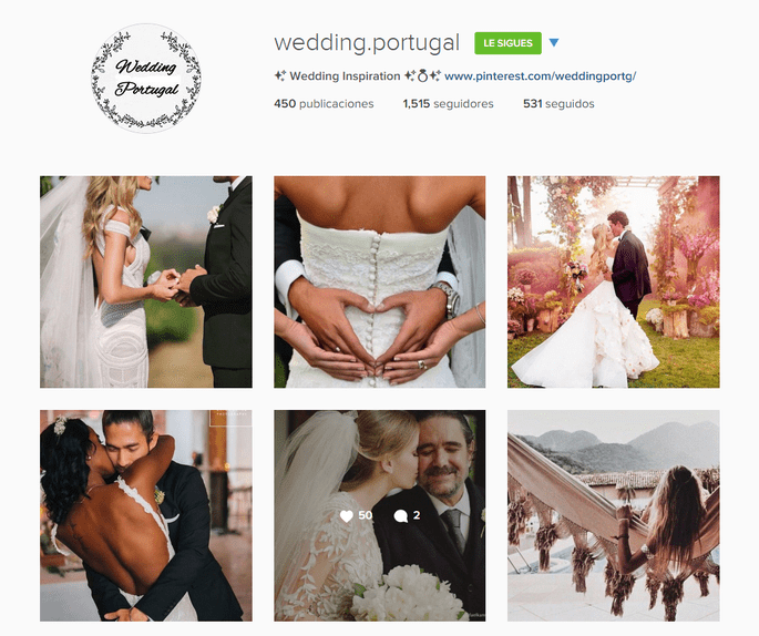 Instagram Wedding Portugal