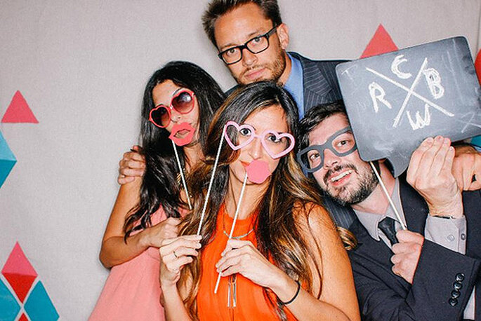 Le photobooth restera une valeur sûre en 2014 ! - Crédits photo: Sweet Little Photographs