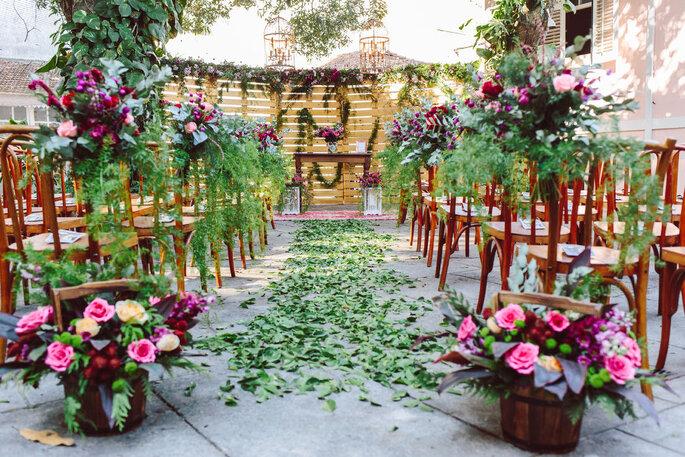 Espaço diferenciado e que fica na memória dos noivos e convidados