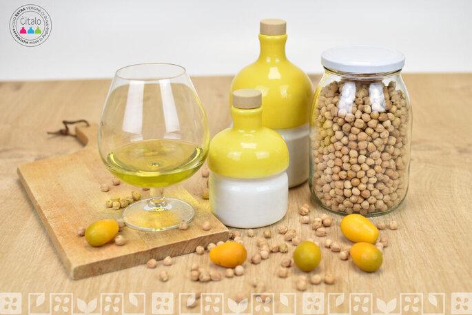 Olio extra vergine di oliva come bomboniera