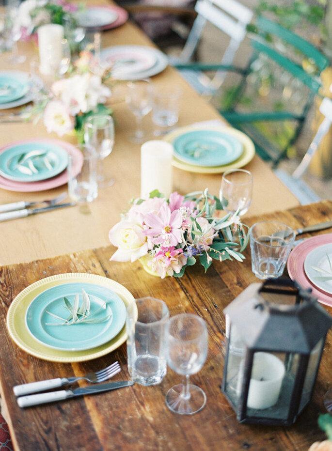decoración en tonos pastel - Jen Huang