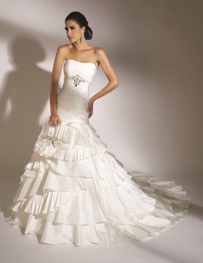Vestido de novia en De BlanCo By Soubran Bräute