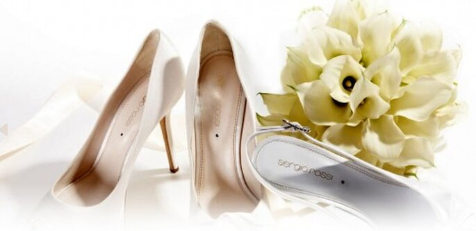 Colección de zapatos de novia del diseñador Sergio Rossi