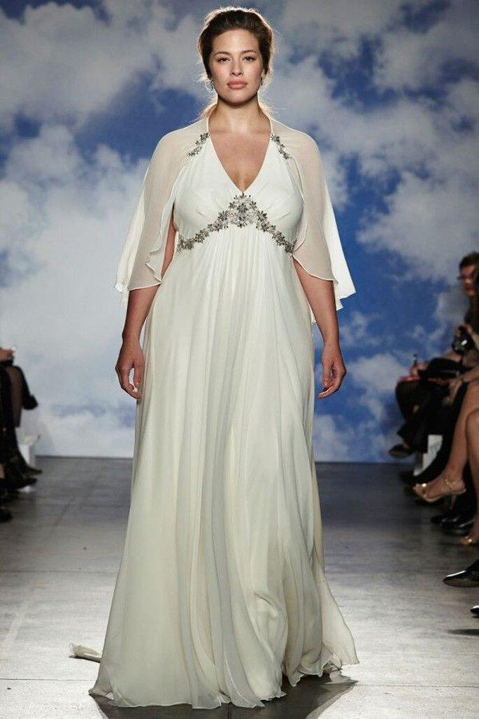 Vestidos de novia 2015 con capas - Jenny Packham