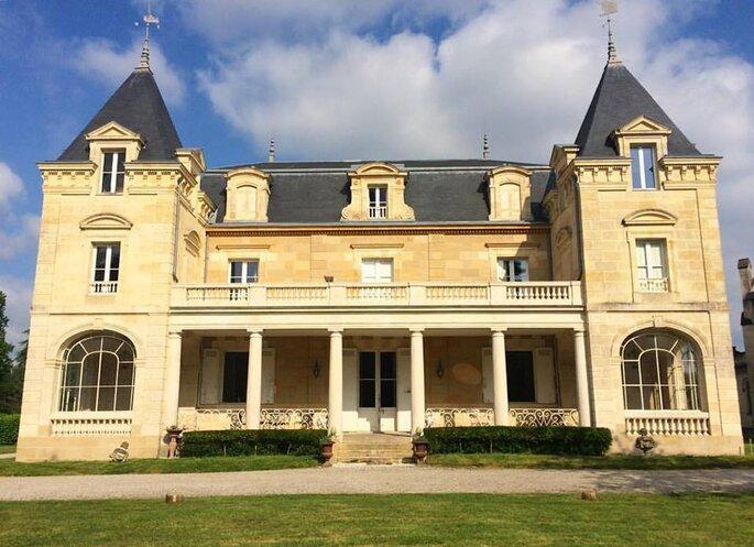 Photo : château Léognan
