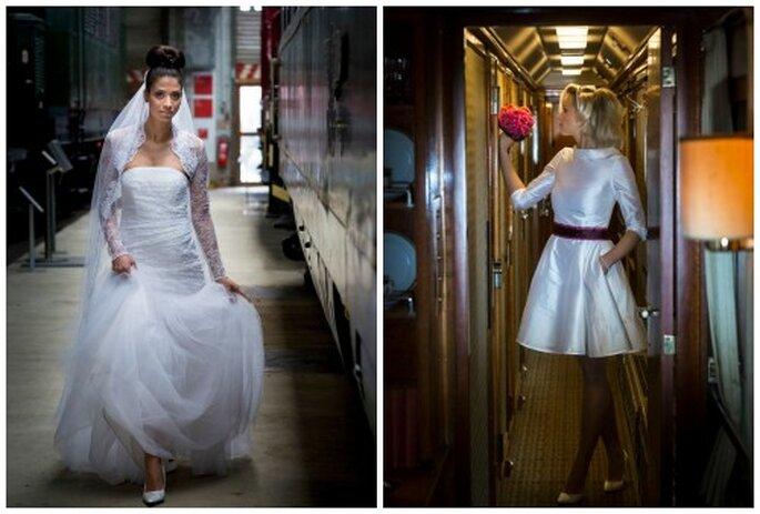 Michele Willems entwirft individuelle Brautkleider.
