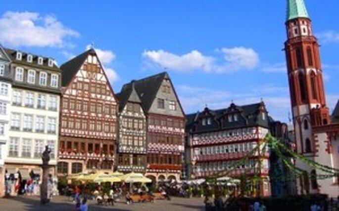 Frankfurt, en el centro de Alemania
