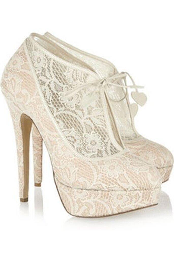Ein wahrhaft königlicher Hochzeitsschuh - Charlotte Olympia Wedding Shoes 2013