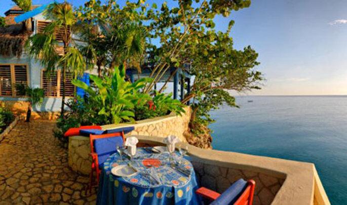 The Caves Resort offre de splendides vues sur le Mer des Caraibes