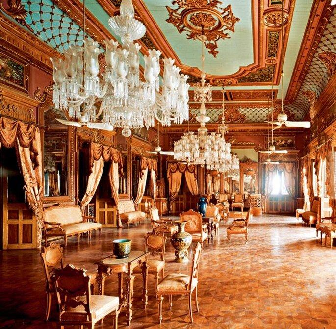 Photo: Taj Falaknuma Palace.