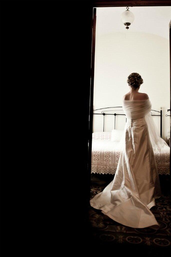 La novia antes de la boda- Foto: Valentín Gámiz