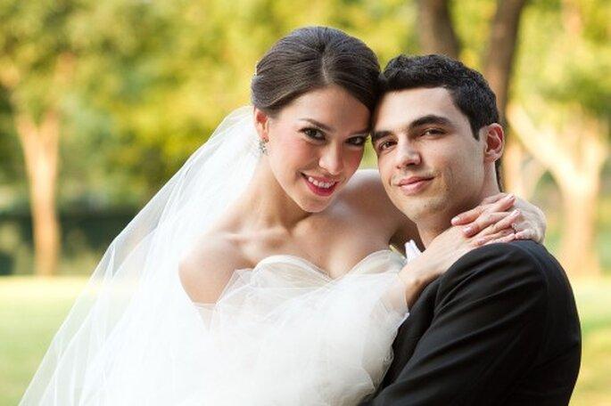 Irma y Javi en una sesión de fotos muy romántica - Foto Pepe Orellana
