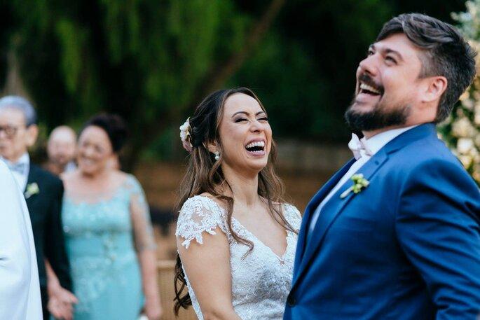 Risada noivos