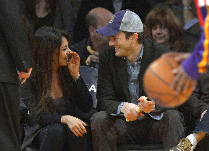 Ashton Kutcher y Mila Kunis. Credits: Gtres online