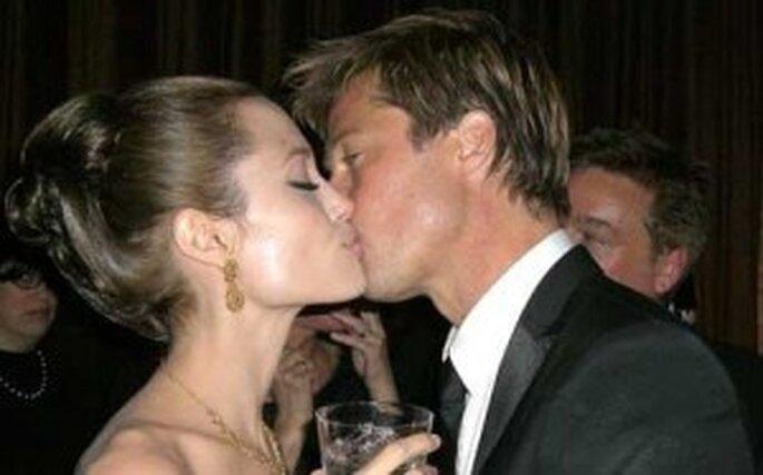 Brad Pitt and Angelina Jolie - wedding bells?