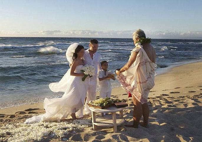 Romántico vestido de novia el de la boda de Megan Fox