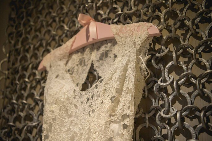 Detalhe do vestido