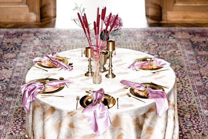 Tablecloth Hire Avantgarde Tischdekoration Hochzeit