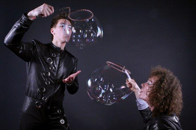 Шоу мыльных пузырей Bubble company