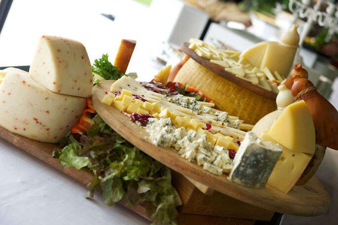 Torte nuziali particolari Selezione di formaggi