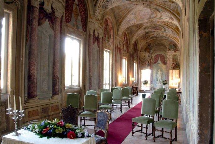 Villa Grazioli - Cerimonia nella Galleria del Pannini