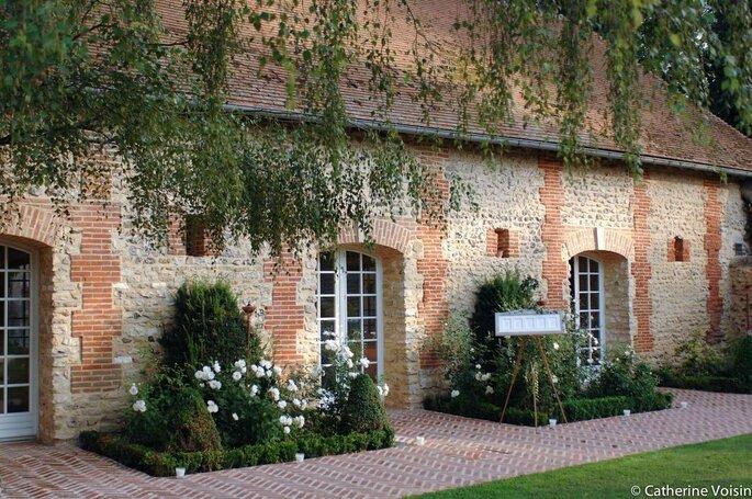 Authentique façade de l'Orangerie de Vatimesnil