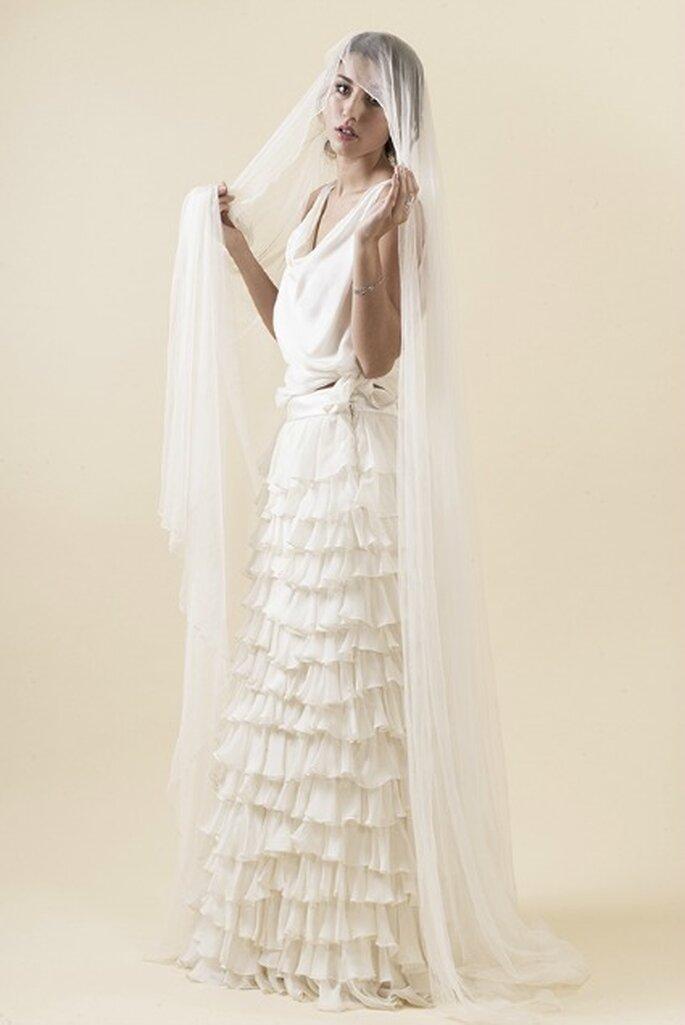 Robe de mariée sur mesure Steva Couture, modèle Jessica