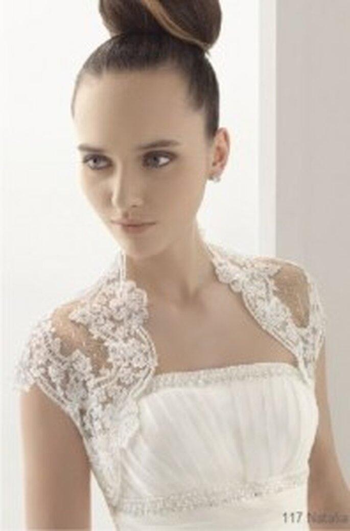 Top de mariée Aire Barcelona 2011 - modèle natalia