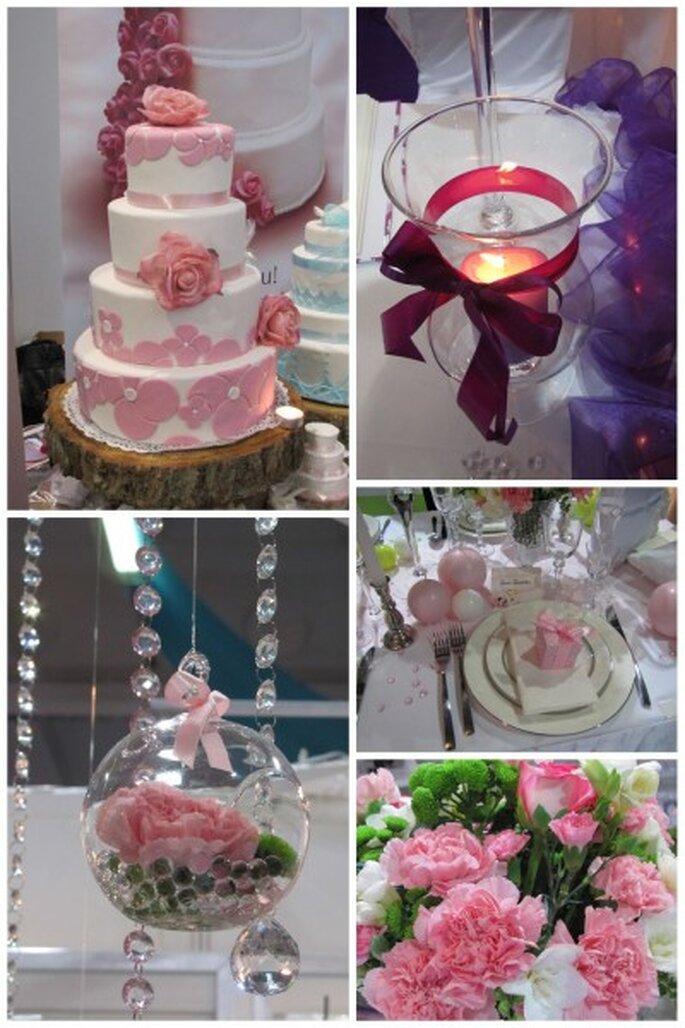 kolor przewodni wesela różowy