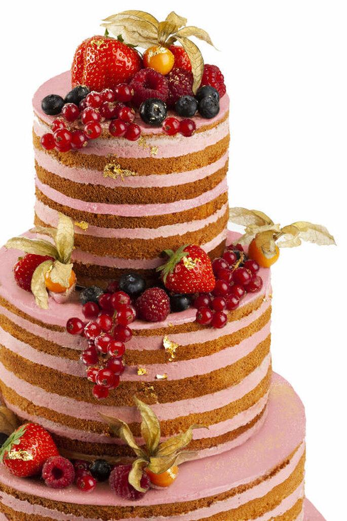 Confiserie Sprüngli Hochzeitstorte Früchte