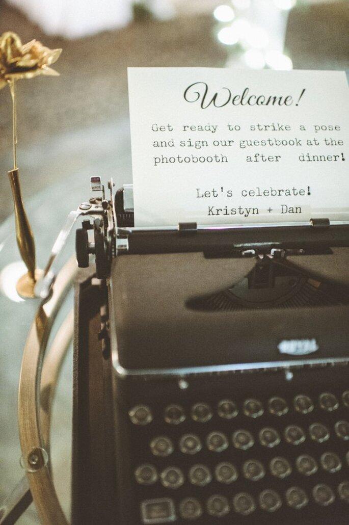 Inspiración para una boda romántica - Foto Paper Antler Photography