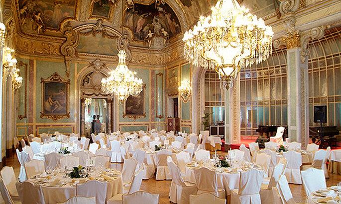 siéntete como una princesa en el Salón Real del Casino de Madrid